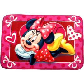 Minnie Mouse Pois Tappetino Tappeto Bambina Morbido Memory Foam Bagno