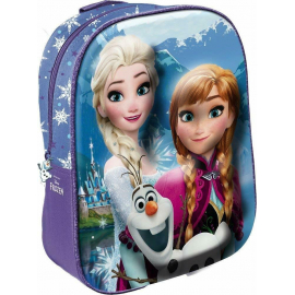 Frozen Anna Elsa and Olaf Backpack 3D Backpack Kindergarten Kindergarten free time