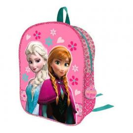 Frozen Anna e Elsa Zainetto Zaino 3D Scuola Materna Asilo tempo Libero