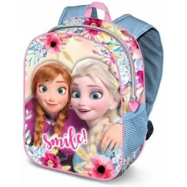 Frozen Smile Zainetto Zaino 3D Scuola Materna Asilo tempo Libero