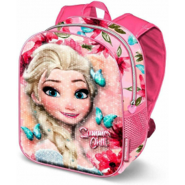 Frozen Summer Sequins Backpack 3D Backpack Kindergarten Kindergarten free time