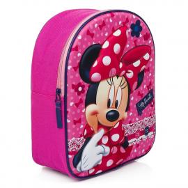 Minnie Mouse Disney Pizzo Zainetto Zaino 3D Scuola Materna Asilo tempo Libero
