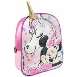 Minnie Mouse Disney Unicorn Schoolbag 3D Backpack Kindergarten Kindergarten Leisure