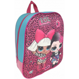Lol Surprise leopard print Me Backpack 3D Kindergarten Kindergarten Leisure time