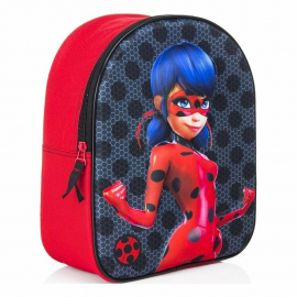 Miraculous Ladybug Black Backpack 3D Backpack Kindergarten Kindergarten free time