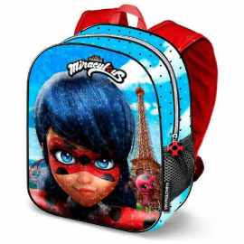 Miraculous Ladybug Paillettes Backpack 3D Backpack Kindergarten Kindergarten free time