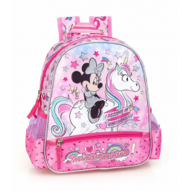 Minnie Mouse Unicorn Satin Schoolbag Backpack Kindergarten Kindergarten free time