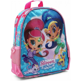 Shimmer and Shine Sequins Backpack 3D Backpack Kindergarten Kindergarten free time