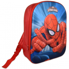 Spiderman Spider-Man Blue Schoolbag 3D Backpack Kindergarten Kindergarten free time