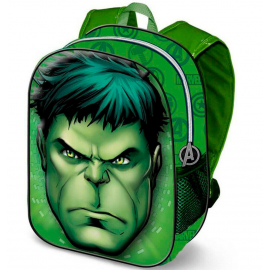 Hulk Avengers Backpack 3D Backpack Kindergarten Kindergarten free time