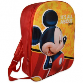 Mickey Mouse Mickey Mouse Yellow Schoolbag Backpack 3D Kindergarten Kindergarten Leisure