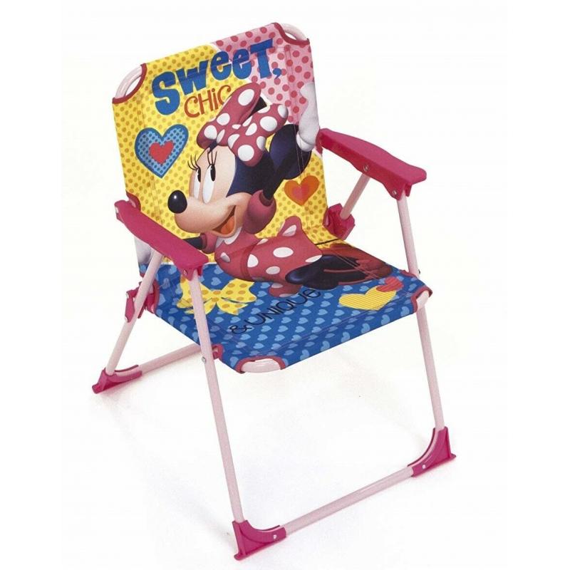 Sedie Pieghevoli Per Spiaggia.Minnie Mouse Sedia Pieghevole Per Bambini Giardino Campeggio