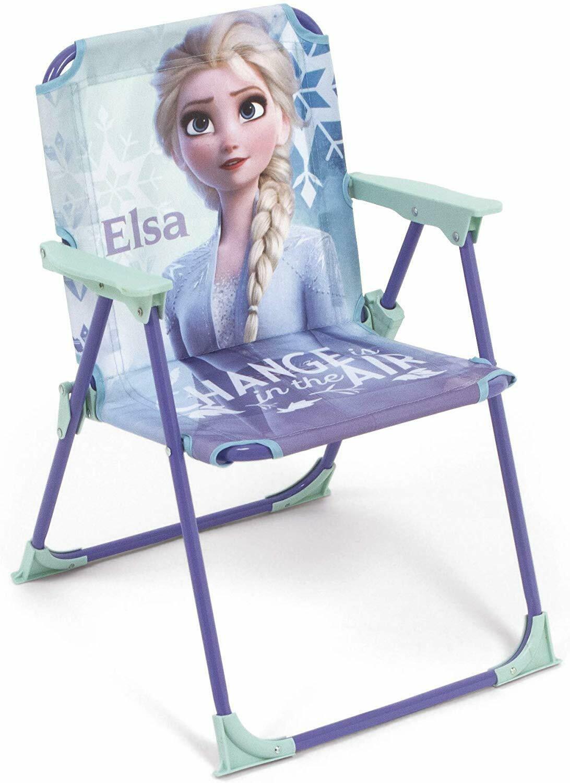 Sedie Pieghevoli Per Il Mare.Frozen Elsa Sedia Pieghevole Per Bambini Giardino Campeggio