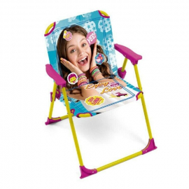Soy Luna Folding Chair for Children Garden Camping Beach Aluminum