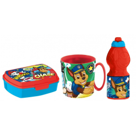 Frozen 2 Set Breakfast Snack Box + Bottle + Cup - School glass