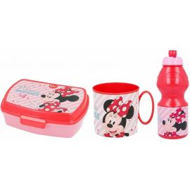 Cars Disney Set Colazione Box Porta Merenda + Borraccia + Tazza - Bicchiere scuola