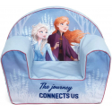 Frozen Single Sofa Armchair, Foam Removable Pouf for Children