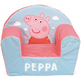 Peppa Pig Single Sofa Armchair, Foam Removable Pouf for Children