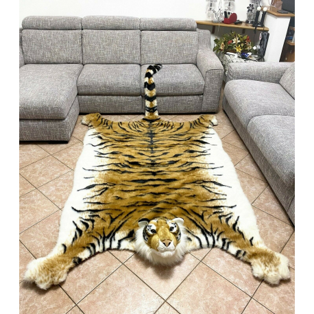 Giant Plush Tiger Sitting 65cm Soft Pampering Kids Boys Gift