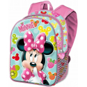 Minnie Mouse Disney Frutti Schoolbag 3D Backpack Kindergarten Kindergarten free time