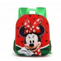 Minnie Mouse Disney Watermelon Schoolbag 3D Backpack Kindergarten Kindergarten free time