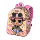 Princess Disney Beauty Schoolbag 3D Backpack Kindergarten Kindergarten free time