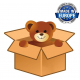 Cuddly Giant Bear Plush 150 cm White , Perfect Gift for Adult Children