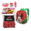 Minnie Mouse School Disney Backpack 3D Backpack set School kindergarten 6 pieces