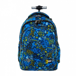 St.Right Alien Backpack Trolley School Trolley for Boy Girl