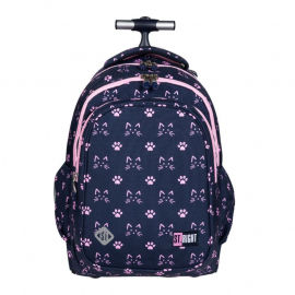 St.Right XD Skull Backpack Trolley School Trolley for Boy Girl