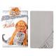 Dog Husky 3 Pieces Set Single Bed Duvet Cover, Pillowcase + Sheets under