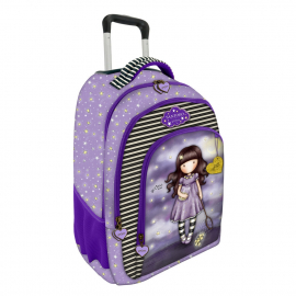 St.Right Aliens Fluorescente Set Backpack Trolley School