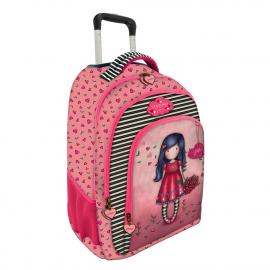 Gorjuss Cherry Blossom Backpack Trolley School