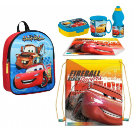Disney Mickey Mouse set 3D Backpack, Sport Bag, Kindergarten School Snack Set