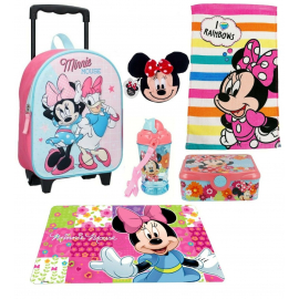 Princess set 3D Backpack, Sport Bag, Kindergarten School Snack Set
