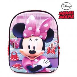 Minnie Mouse Disney Mask Zainetto Zaino 3D Scuola Materna Asilo tempo Libero