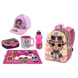 LOL Surprise Schoolbag Backpack + Sports Bag set School kindergarten 6 pieces