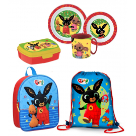 Bing Set Backpack 3D Backpack, Sports Bag, School Kindergarten Holder