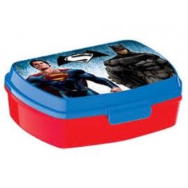 LUNCH BOX breakfast box for LUNCH SNACK sandwich school, kindergarten child Batman VS Superman