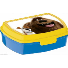 LUNCH BOX breakfast box for LUNCH SNACK sandwich school, kindergarten child Pets