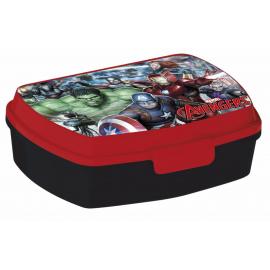 Avengers LUNCH BOX breakfast box for LUNCH SNACK sandwich school, kindergarten child