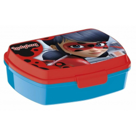 Ladybug LUNCH BOX breakfast box for LUNCH SNACK sandwich school, kindergarten child