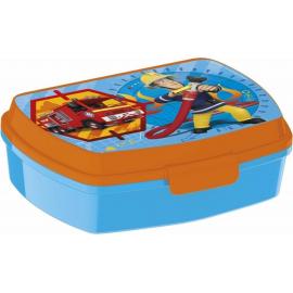LUNCH BOX breakfast box for LUNCH SNACK sandwich school, kindergarten child Sam fireman