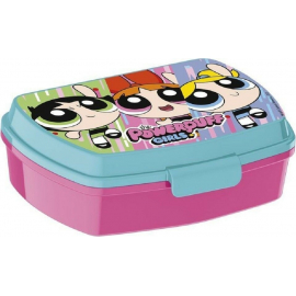 LUNCH BOX breakfast box for LUNCH SNACK sandwich school, kindergarten child Power Puff