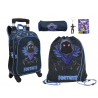 Fortnite Raven set Backpack Trolley 4pcs