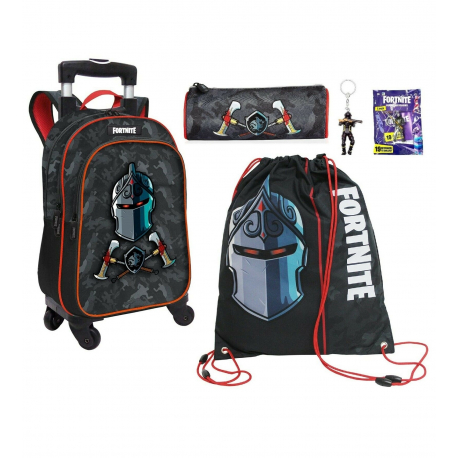 Fortnite Raven set Backpack Trolley 4pcs