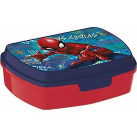 LUNCH BOX breakfast box for LUNCH SNACK sandwich school, kindergarten child Spiderman Graffiti