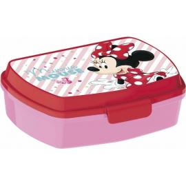 LUNCH BOX breakfast box for LUNCH SNACK sandwich school, kindergarten child Minnie Elettric