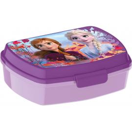 LUNCH BOX breakfast box for LUNCH SNACK sandwich school, kindergarten child Frozen Violet