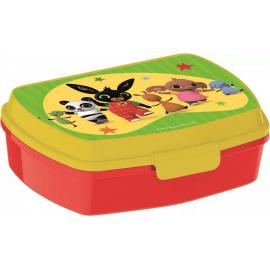 LUNCH BOX breakfast box for LUNCH SNACK sandwich school, kindergarten child Bing Bunny